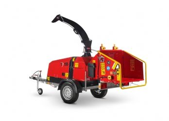 155 Mobile TP Wood Chipper