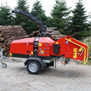 TP 215 Mobile Wood Chipper