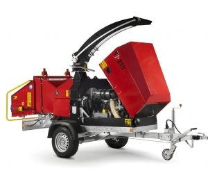 215 Mobile TP Wood Chipper