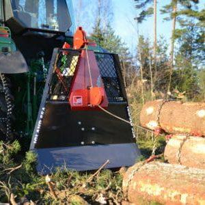 Igland 55A PTO Forestry Winch