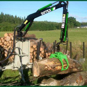 Botex 560 Forestry Timber Loader