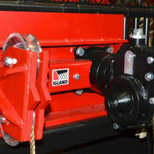 Igland 6002 Pronto Double Drum PTO Forestry Winch