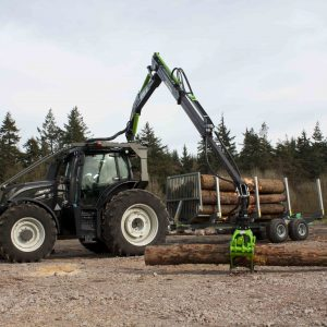 Botex 580 Double Extension Forestry Timber Loader