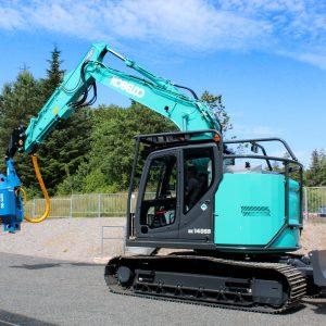HarvaDig – Forestry Excavator Conversion