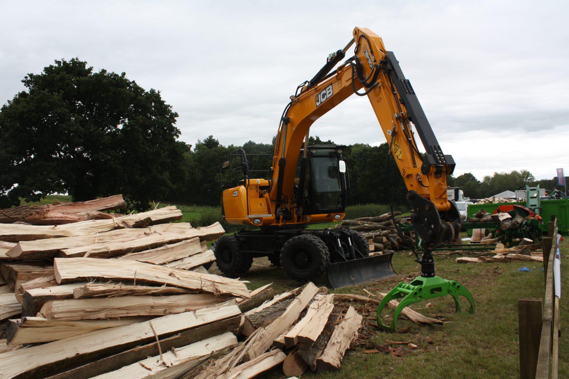 Botex Forestry Timber Grapple Grab - Jas P Wilson