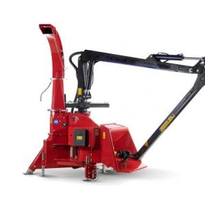 TP 250K Crane Feed PTO Wood Chipper