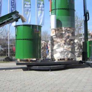 Posch PackFix Double Drum Firewood Log Net Wrapper