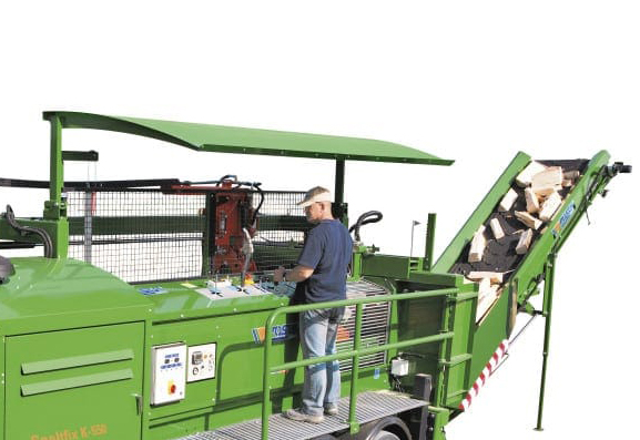 Posch K-550 Firewood Processor