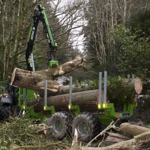 Botex GR-15 'Bigfoot' Forestry Trailer