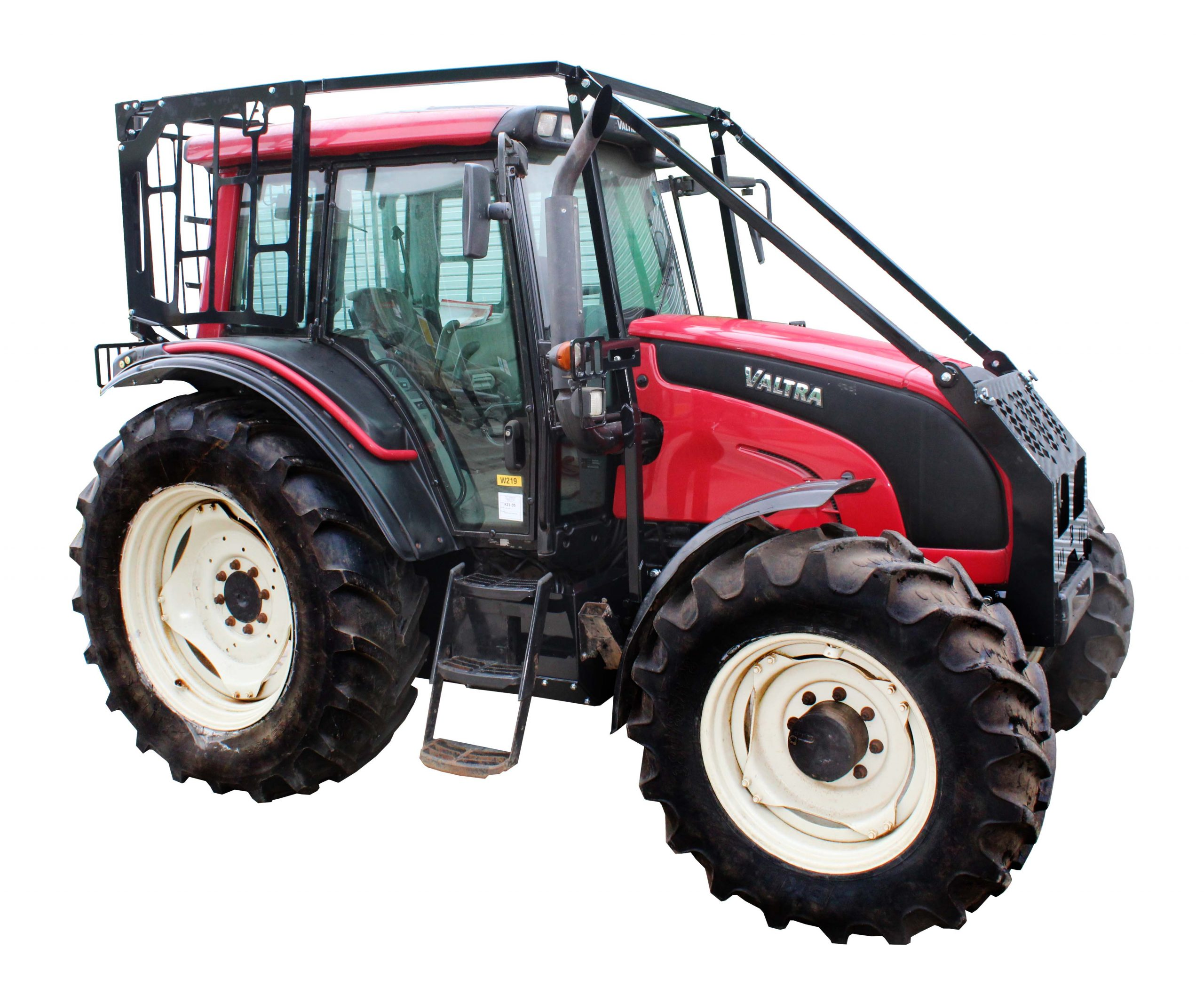 forestry guarded valtra