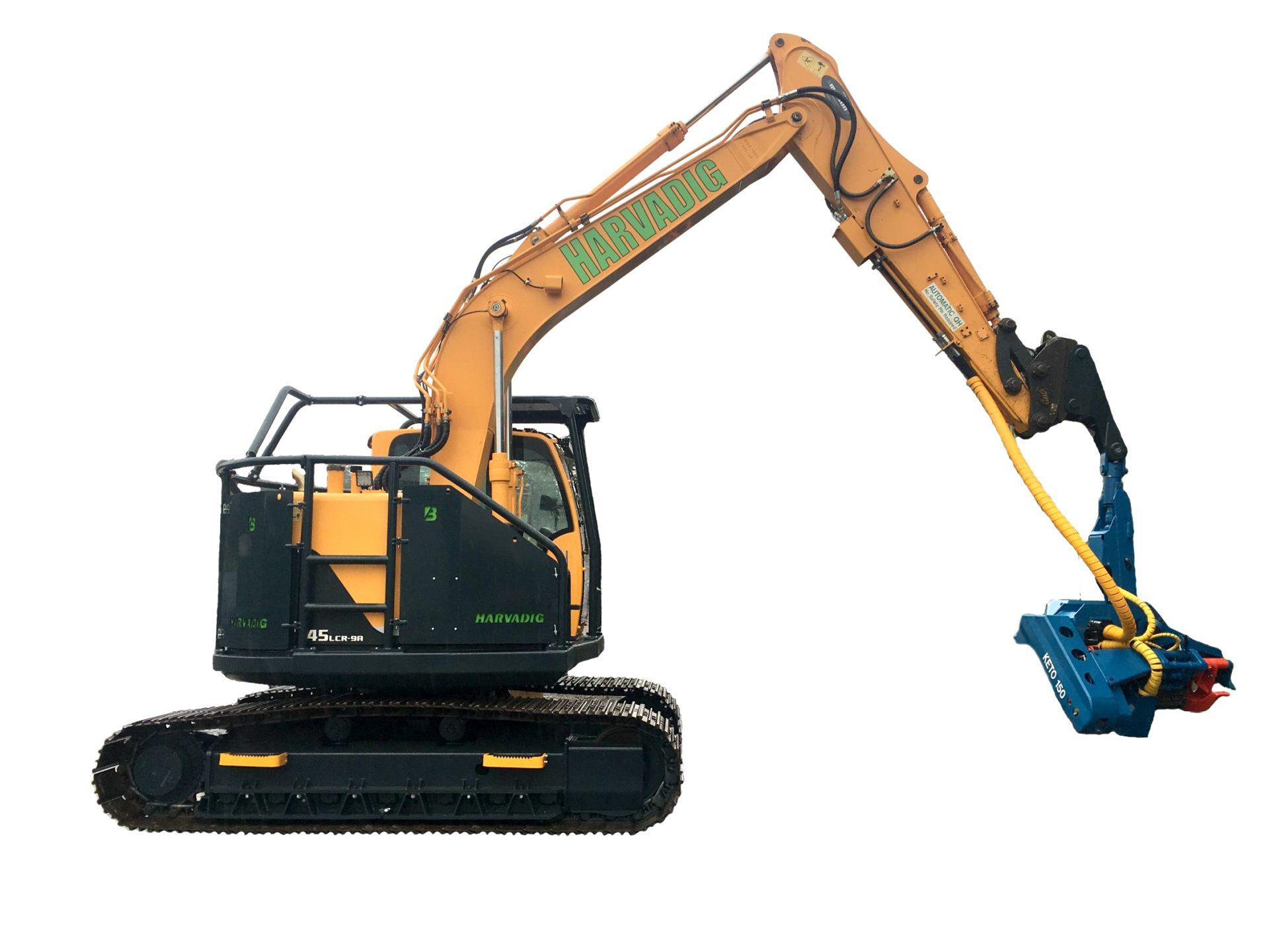HarvaDig - Forestry Excavator Conversion - Jas P Wilson