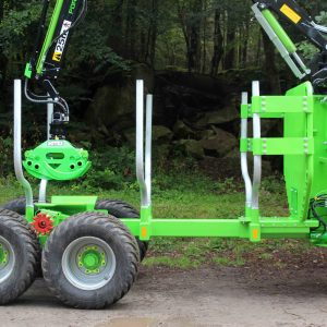 Botex GR-12 DRIVE Forestry Drive Trailer