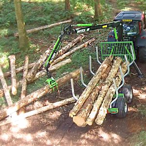 Botex GR-8 Forestry Timber Trailer