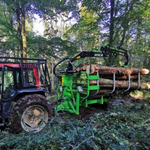 Botex GR-12 Forestry Timber Trailer