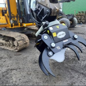 JAK 400 Excavator Tree Shear Grapple With Rotator