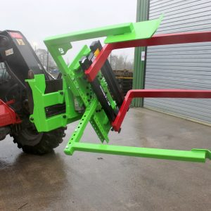 Botex Box Rotator – Rotating Pallet Forks with loader bracket