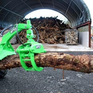 Botex Timber Grapple with Logging Plate – AVANT fit